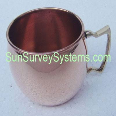 Moscow Mule Mug Copper Hammered