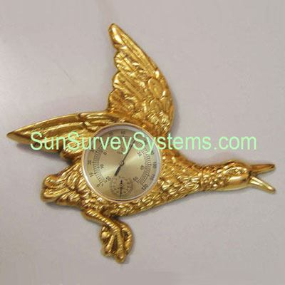 Brass Bird Clock