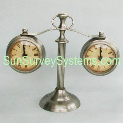 Table Clocks on Stand