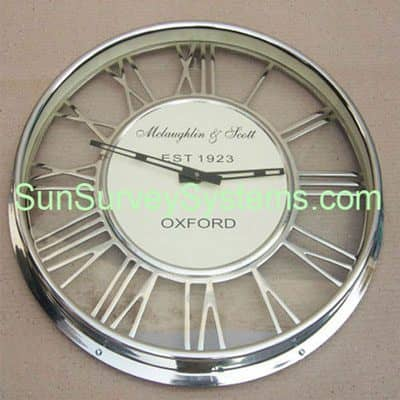 Office Clock Cut Dial