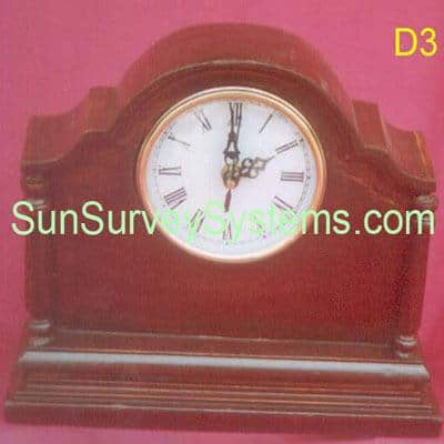 Table Clock D3