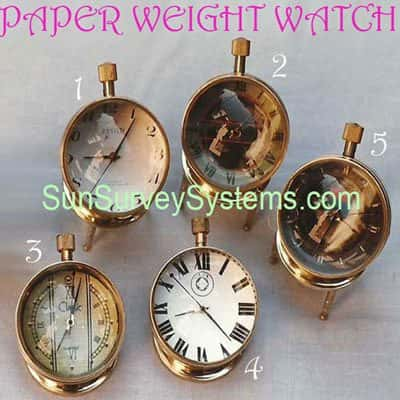 Watch Paper Weight