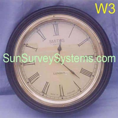 Office Wall Clock W3