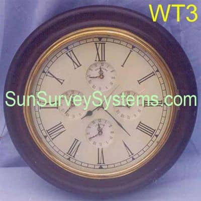 Worldtime Wall Clock WT3