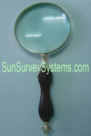 Magnifier Wood Handle